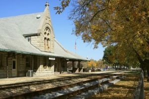 Dwight railroad station