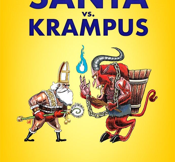 Santa vs. Krampus