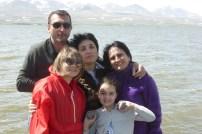 Paata, Lia, Tamuna, Ana and Khato