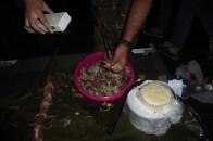 preparing the Mtsvadi