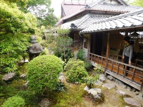 The samurai home, scene of our temari sushi-making class.