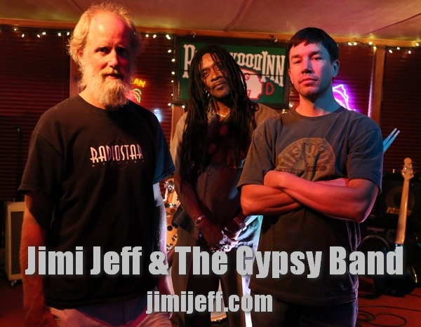 The RockSlide Bar & Grill Monday Open Mic Nights with Jimi Jeff & The Gypsy Band