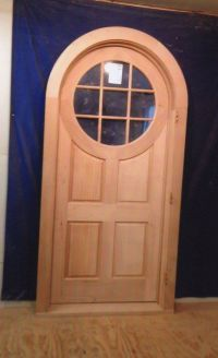 Wood Custom Arched Top Doors  Jim Illingworth Millwork, LLC