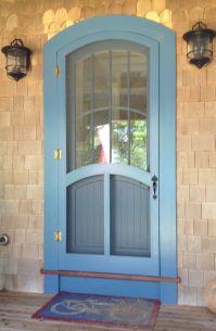 Wood Custom Arched top doors | Jim Illingworth Millwork, LLC