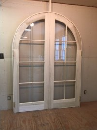 French Door  Arched Interior French Doors