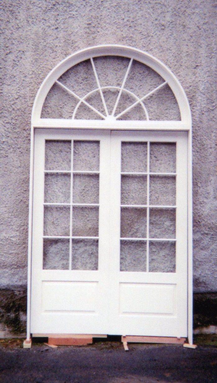 Wood custom French doors  Jim Illingworth Millwork, LLC