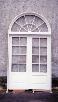Wood custom French doors  Jim Illingworth Millwork, LLC