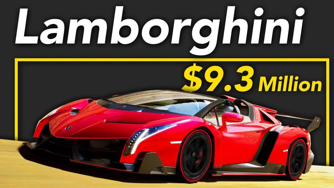 Here's Why Lamborghini Car is Worth $9.3 Million