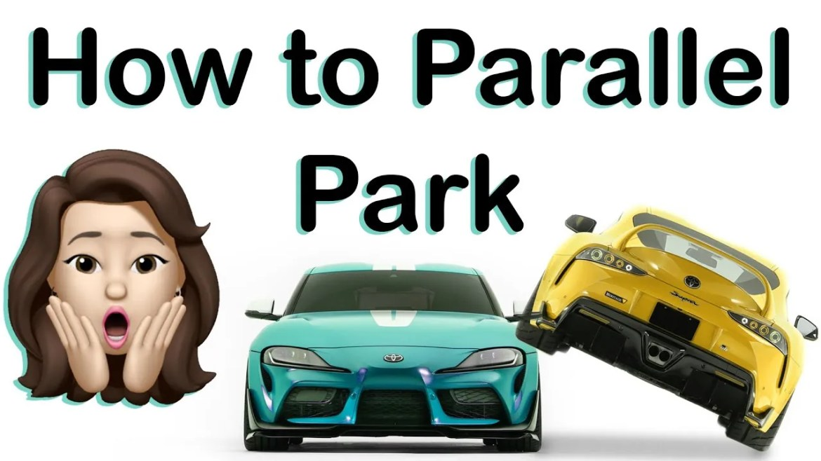 How to PARALLEL PARK – 45 Degree Method.