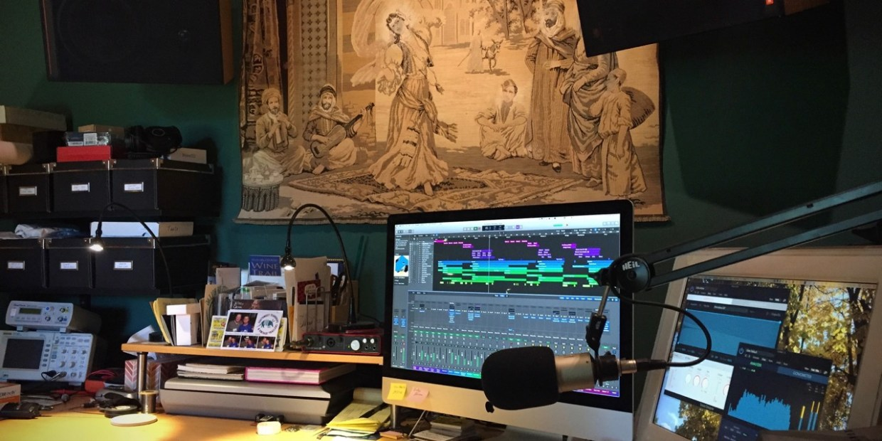 photo of The studio in action