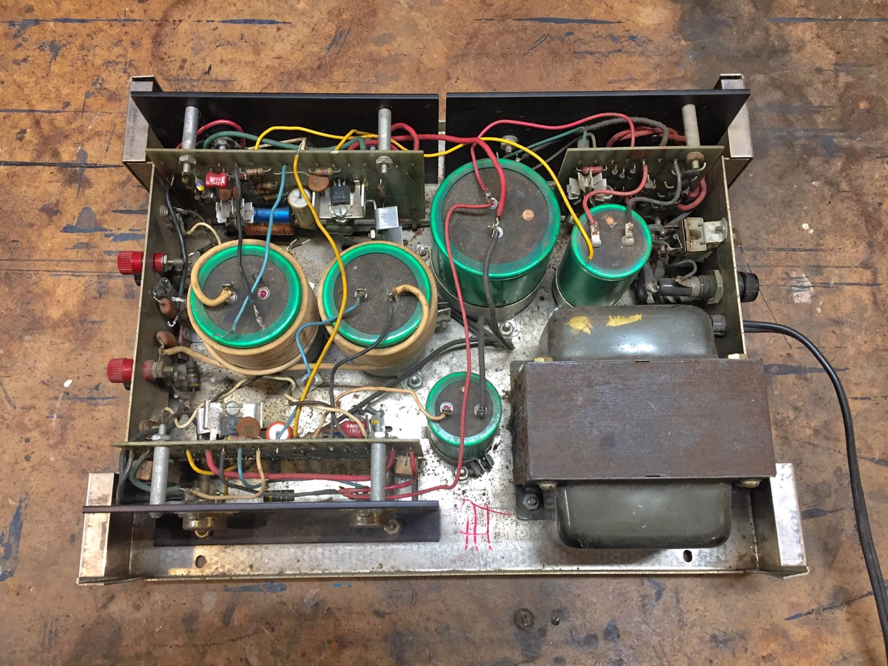 Reviving a Dynaco Stereo 120 for the Studio | Jim Kerkhoff