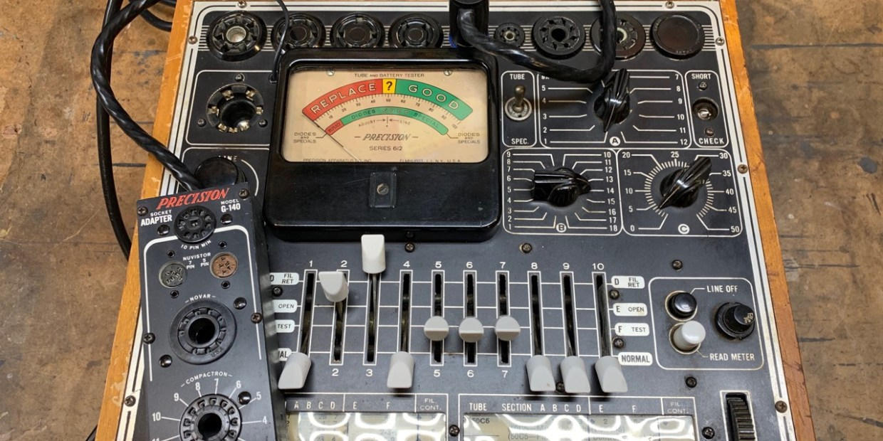 photo of The Precision Model 612 Tube Tester