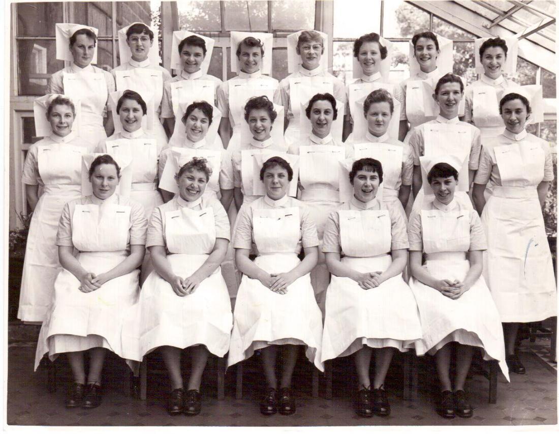 1959 Nurses Leeds General Infirmary
