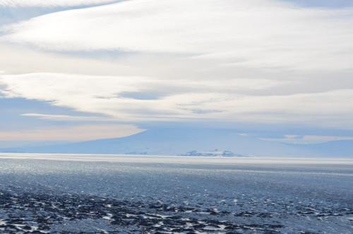 Ross Island from Black Island