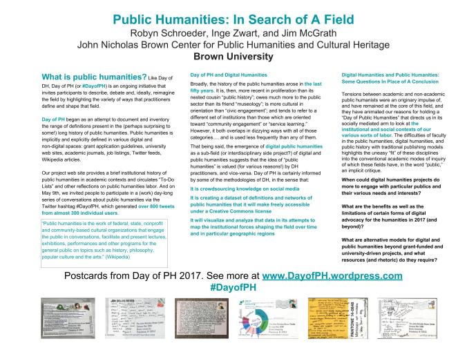 Day of Public Humanities