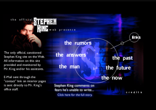 The Official Stephen King Web Presence (2000)