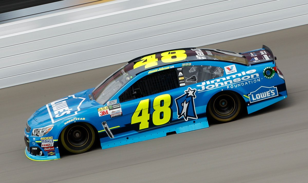 Special Paint Schemes Jimmie Johnson Foundation
