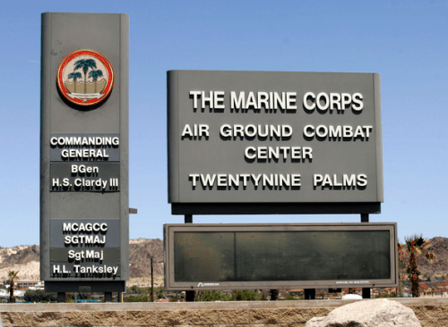 Twentynine Palms Marine Corps Air Ground Combat Center