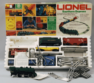 """Lionel """"Southern Express"""" Electric Train"""