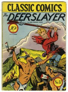 Classic Illustrated Comic Book - The Deerslayer