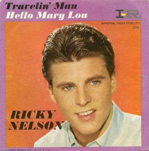 Travelin' Man 45 RPM - Ricky Nelson