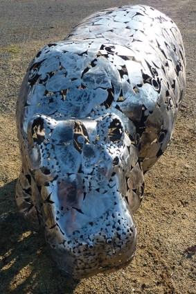 Hippo métal pour une commande