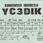 インドネシアのQSL
