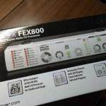 BehringerのFX Prosessor FEX800