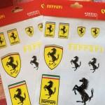 Ferrari ADESIVIステッカー♪