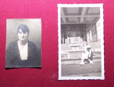 Giorgia in 1914 (age 15); and at the 1939-1940 NY World's Fair.