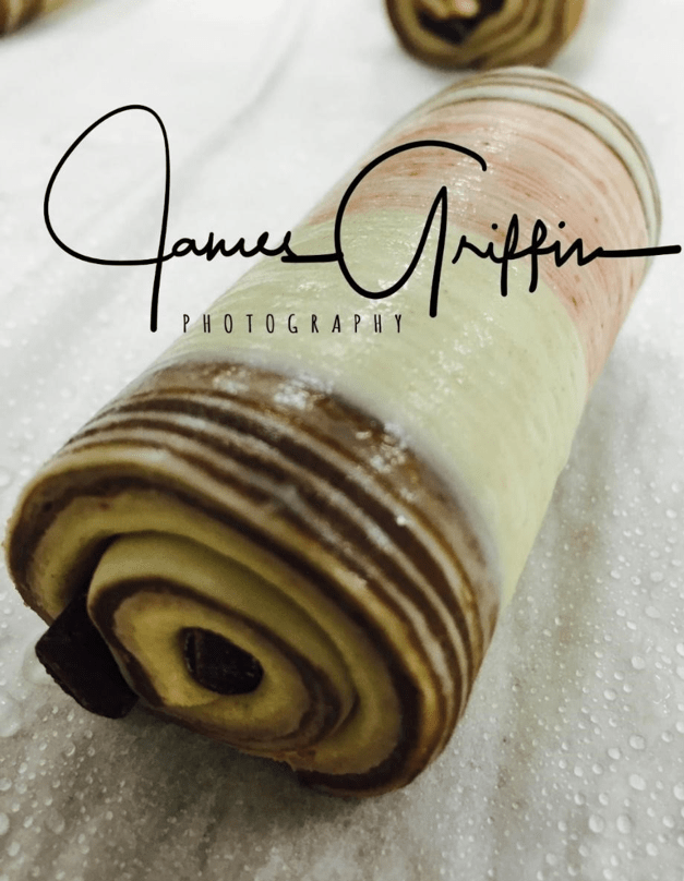 Pastry made by Jimmy Griffin Master Baker