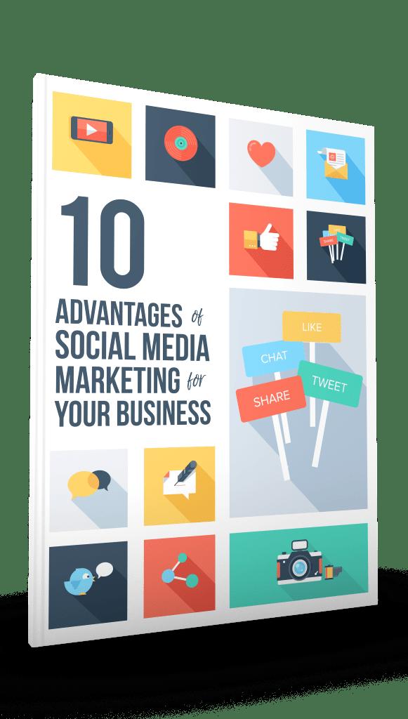 Advantages of Social Media 3D-Right