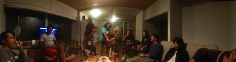 Bungy Party - my last night in Minakami.