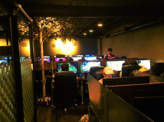 PC Bang. Very popular in Korea for marathon video gaming