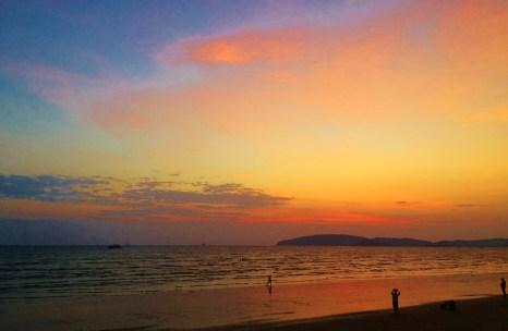 Sunset at Ao Nang