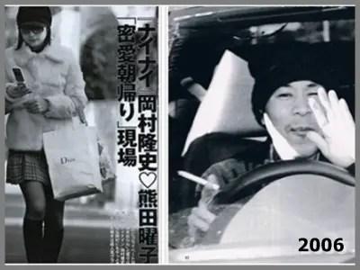 岡村隆史,歴代彼女,熊田曜子,フライデー,熱愛報道