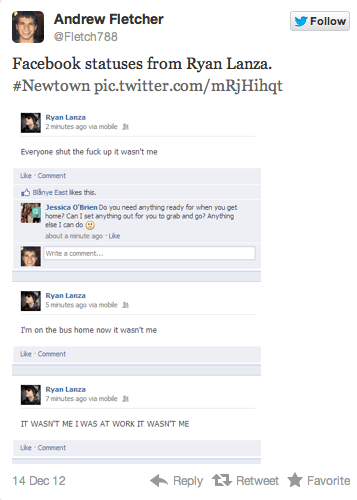 ryan lanza fb update