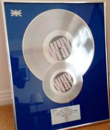 BPI Sales Award Bronski Beat Why Disk