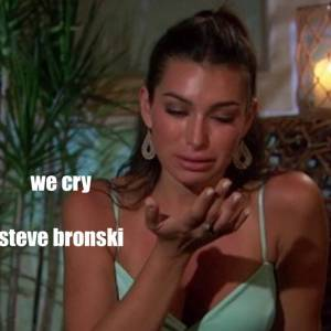 "Steve Bronski - ""We Cry"" written by Jimmy Somerville"