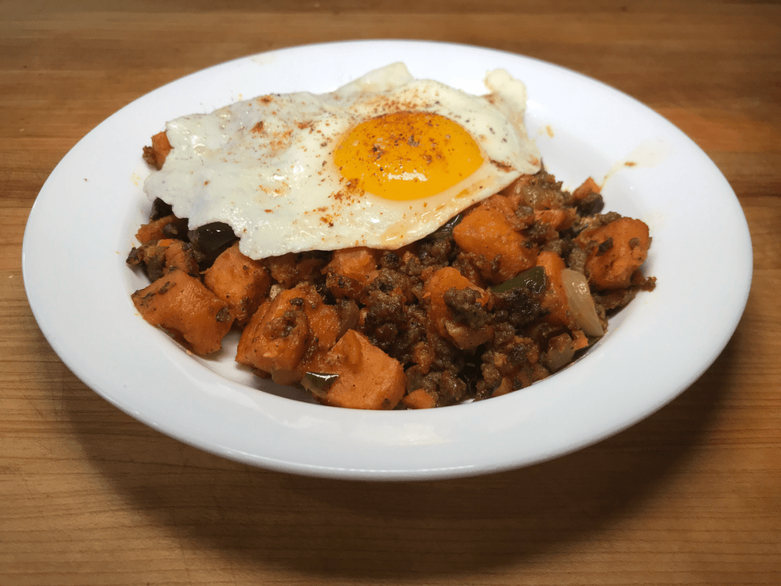 Sweet Potato Hash For Breakfast Or Brunch!