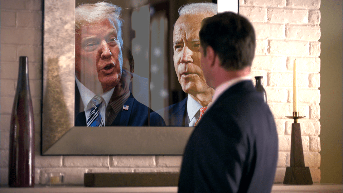Man In The Mirror - Trump and Biden