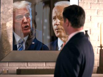 Man In The Mirror - Trump and Biden