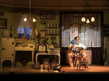 A scene from Carousel of Progress at Walt Disney World