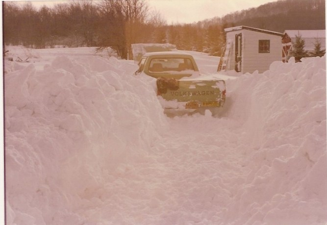 Snow Franklinville 1982