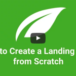 How to create a landing page from scratch