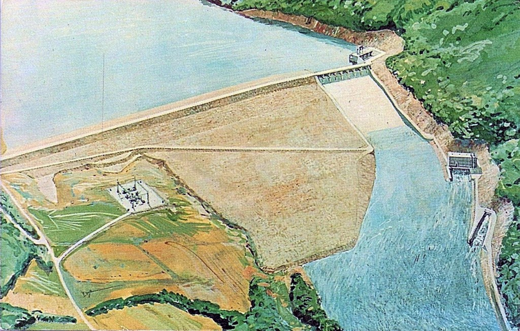 Tocks Island Dam Plan