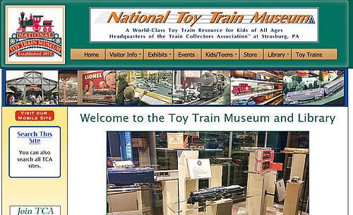 National Toy Train Museum.