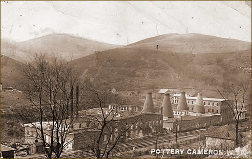 Cameron WV postcard