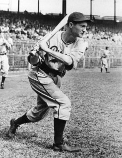 PITTSBURGH - 1938. Paul Waner, outfielder for the Pittsburgh Pirates, takes some cuts before a game at Forbes Field in 1938. (Photo by Mark Rucker/Transcendental Graphics, Getty Images)
