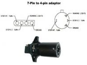 7 pin to 4 trailer adapter wiring diagram cat 5 crossover mopar parts|restoration parts|1994-up dodge truck oem and towing parts|jim's auto parts